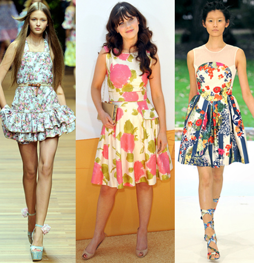Where And How to Wear Floral