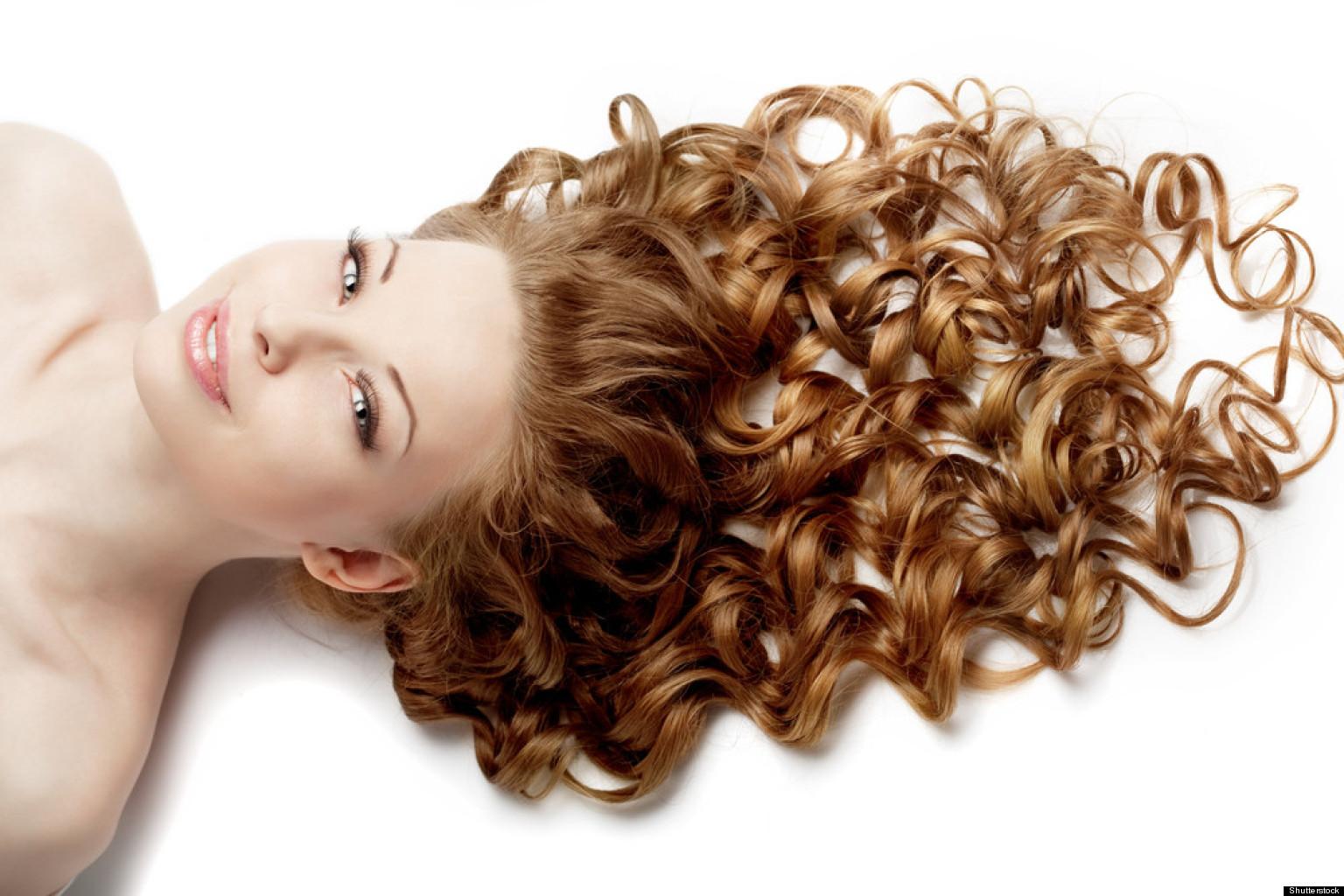 Как завить длинные волосы надолго