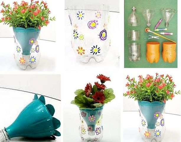 9 Inventive recycled pots. creative diy flower herbs pots homesthetics       jpg