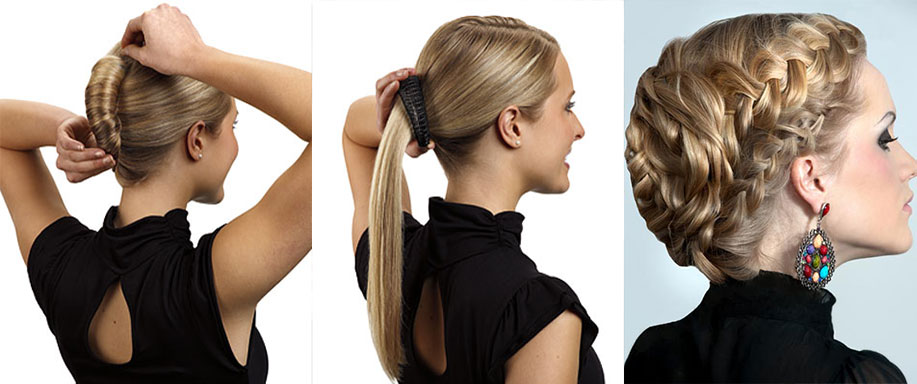 Three 5-minute hair styles for working women