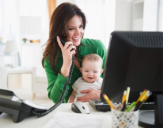 Beat the challenge of being a work from home mom