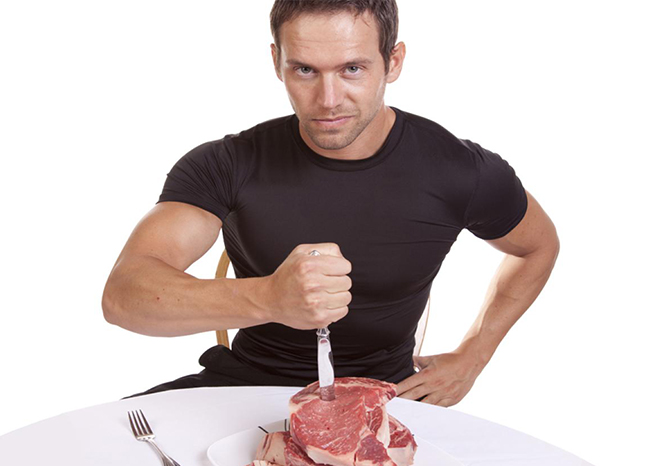 Are meat eaters stronger than vegetarians?