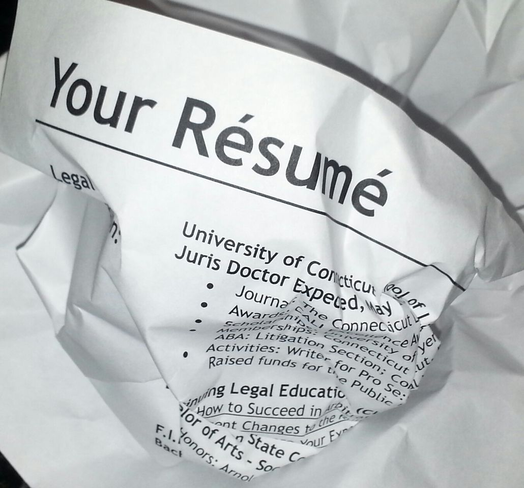 10 common yet avoidable errors your resume has