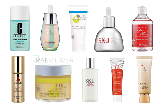 The Best Face Products of 2014