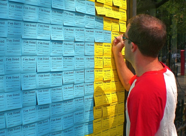 7 Creative uses of Post-it Notes