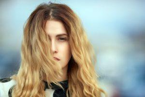 Hair falling in face is harmful