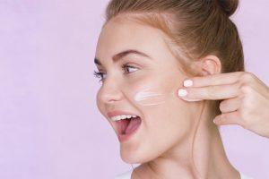 oil-free moisturizer or a BB cream