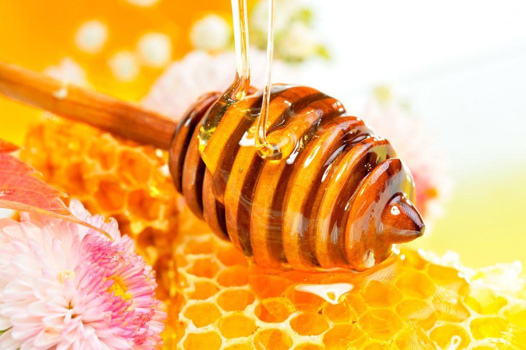 Honey purification test