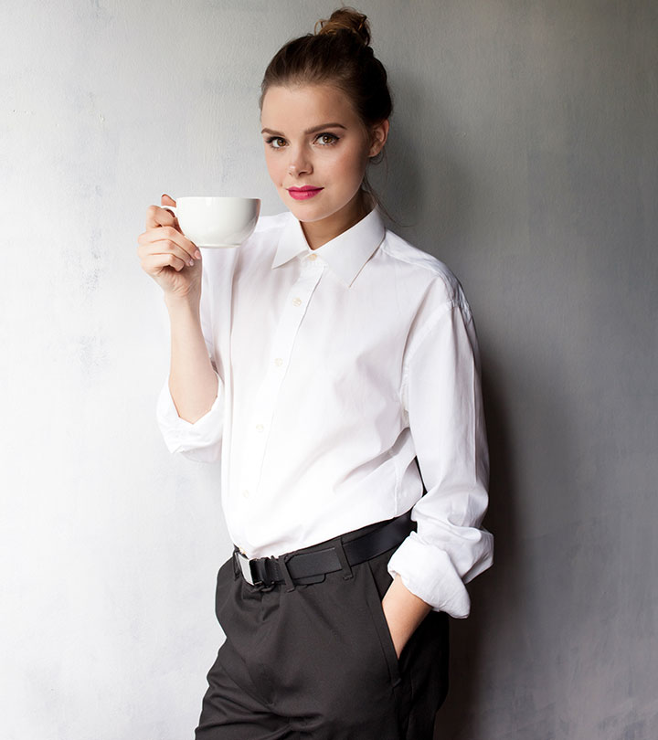 white shirt with pants