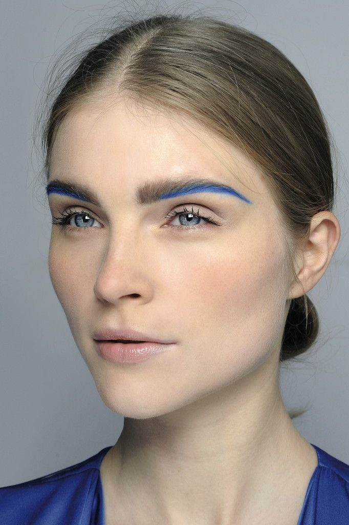 colorful eyebrow