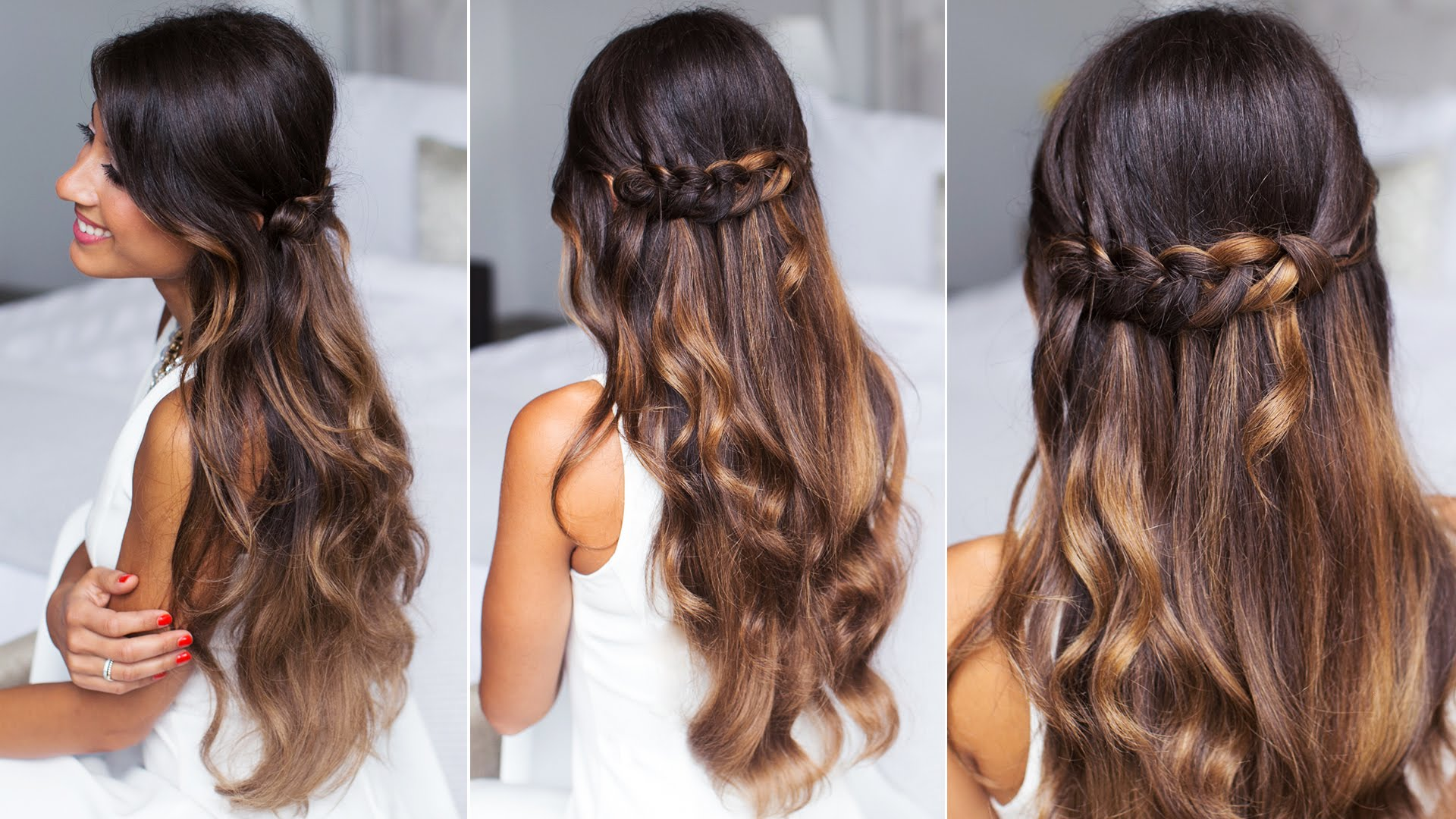 5 Braided Hairstyles for Your First Date!