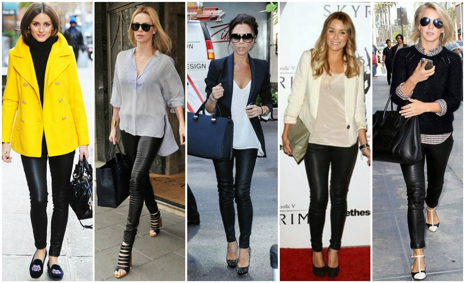 3 ways to style your black leggings!