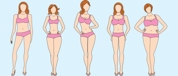 5 Common Women Body Shapes You Must Know